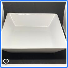 Item #15 Deep Square Serving Dish $10