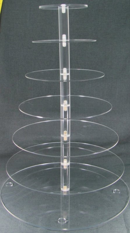 Item #4 Acrylic Cupcake Tower $50